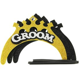 Little Genie Groom-to-Be Celebration Crown Set