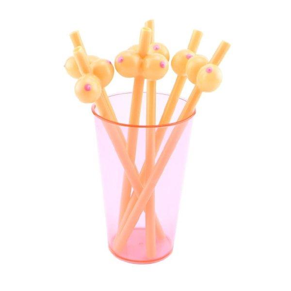 Hott Products Boobie Straws