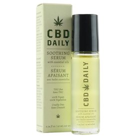 Earthly Body CBD Soothing Serum .34 Ounce Roller Ball