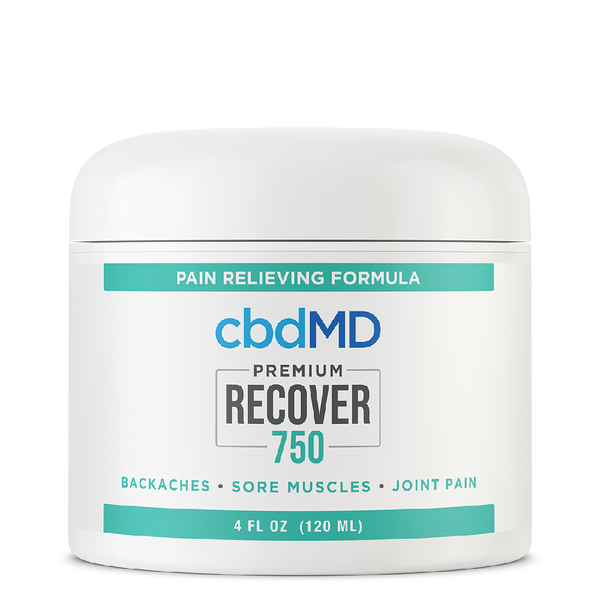 cbdMD CBD Recover Inflammation & Pain Relief 750mg 4oz