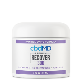 cbdMD CBD Recover Inflammation & Pain Relief 300mg 2oz