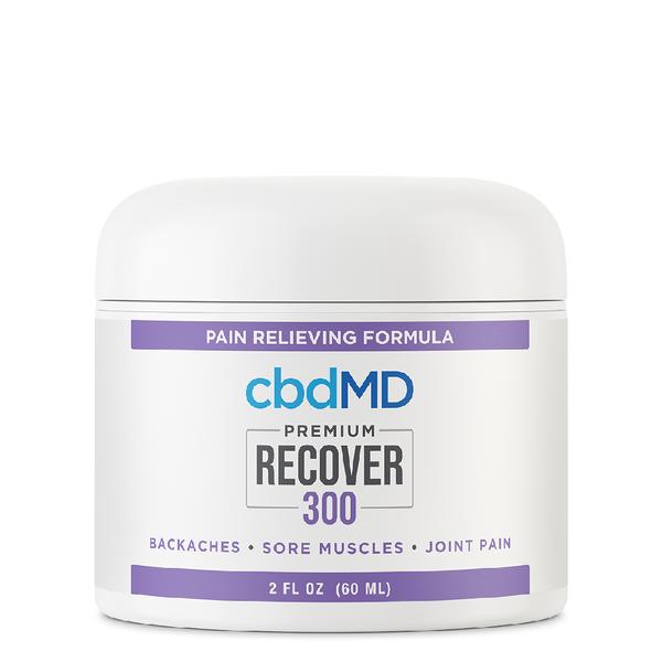 cbdMD CBD Recover Inflammation & Pain Relief 300mg 2oz