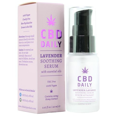 CBD Daily Soothing Serum - Lavender - 20 ml