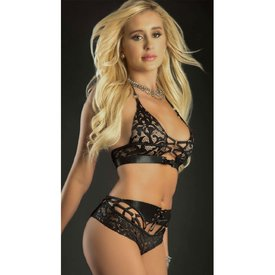 G World  Intimates Strappy O-Ring Two Piece Set
