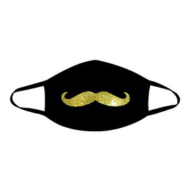 Neva Nude Mr. Mustachio Face Mask