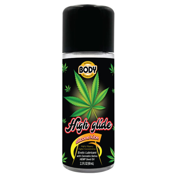 Body Action High Glide Erotic Lubricant 2.3 oz.