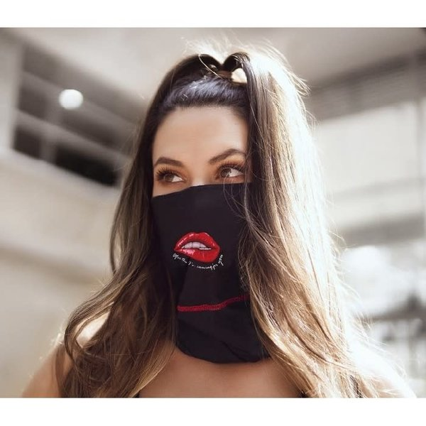 Mapale Face/Neck Bandana - Reversible Lips