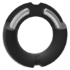 Silicone Covered Metal Cock Ring 45mm