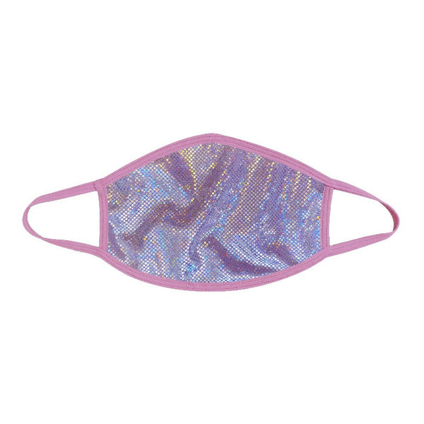 Neva Nude Baby Pink Trim Holographic Face Mask