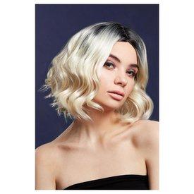Fever/Smiffys Blonde Two Tone Kourtney Wig