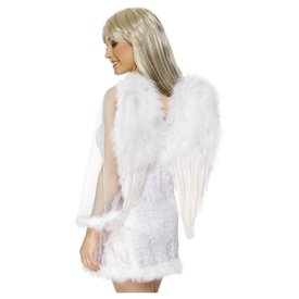 Fever/Smiffys White Angel Wings