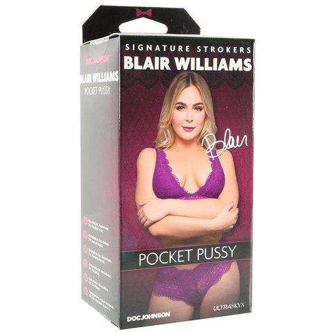 Signature Strokers - Blair Williams - Ultraskyn Pocket Pussy