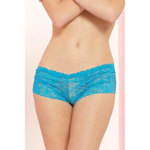 Classic Lace Boyshort Turquoise