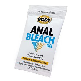 Body Action Anal Bleach Gel Single Application Packet