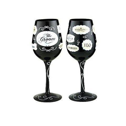 Wine Glass - Groom