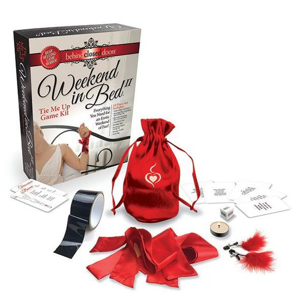 Little Genie Weekend in Bed Game Kit - Tie Me Up Edition