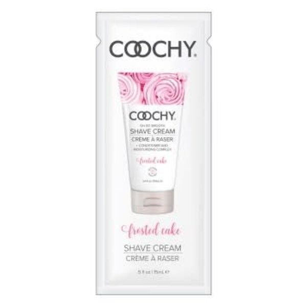 Coochy Shave Cream - Frosted Cake - 15 ml Foil