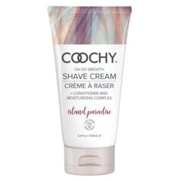 Coochy Shave Cream - Island Paradise - 3.4 oz