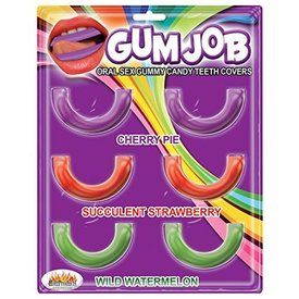 Hott Products Gum Job Oral Sex Candy Teeth  Covers - 6 Pack