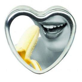 Earthly Body Edible Massage Hemp Candle - Banana 4 oz