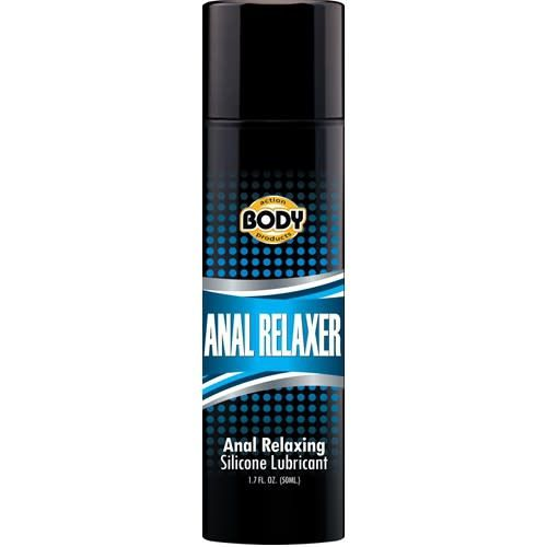 Body Action Oooweee Anal Relaxer Silicone Lubricant Plus Hemp