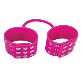 Shots Ouch! Silicone Cuffs - Pink