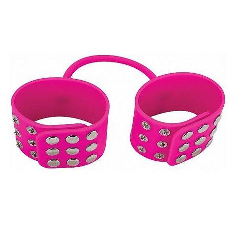 Silicone Cuffs - Pink