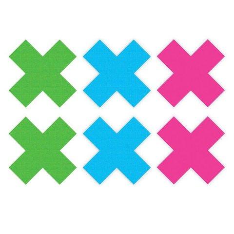 Neon X Pasties - 3 Pair