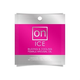 Sensuva On For Her Ice Arousal Oil 3ml Ampoule Packet