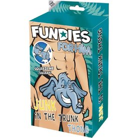 Envy Fundies Junk In The Trunk Thong - One Size Fits Most