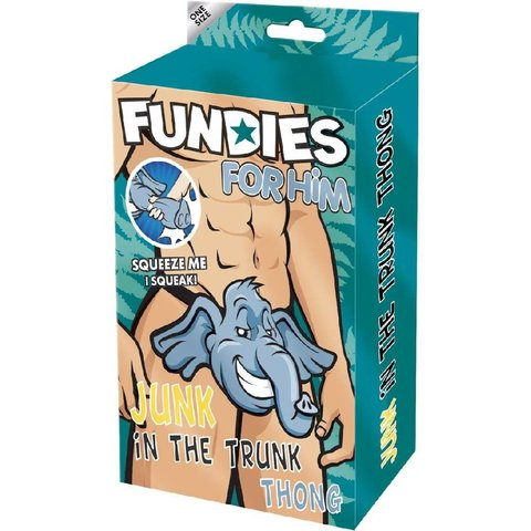 Fundies Junk In The Trunk Thong - One Size Fits Most