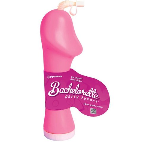 Bachelorette Party Favors Dicky Sipper - Pink