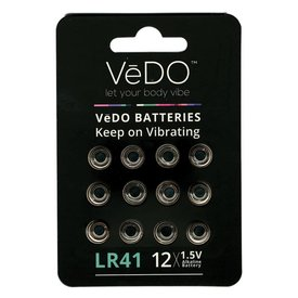 Vedo Lr-41 Battery 12-Pack