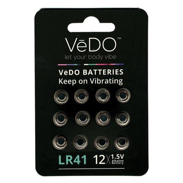 Vedo Lr-41 Battery 12-Pack