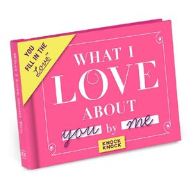 Knock Knock What I Love About You Activity Book