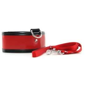 Sportsheets S&M Red Leash and Collar