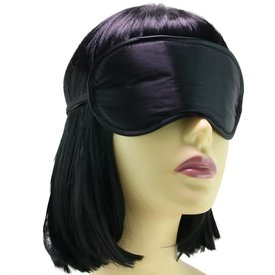 Sportsheets Satin Blindfold Black