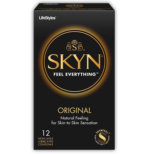 Lifestyles SKYN Non-Latex Condom 12-pack