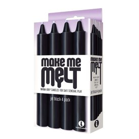Icon Make Me Melt - Jet  Black 4 Pack