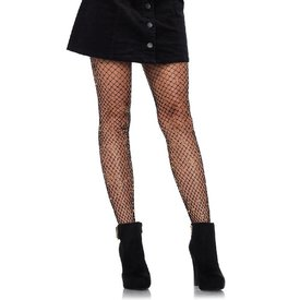 Leg Avenue Shimmering Lurex Industrial Net Tights