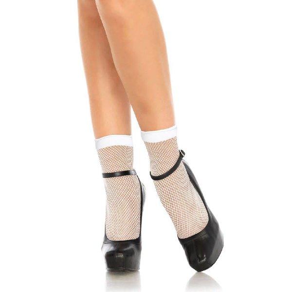 Leg Avenue Fishnet Anklet Stockings