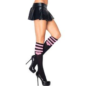Leg Avenue Sweetheart Athletic Knee High Socks