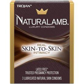 Trojan Naturalamb Condom 3-pack