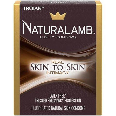 Naturalamb Condom 3-pack