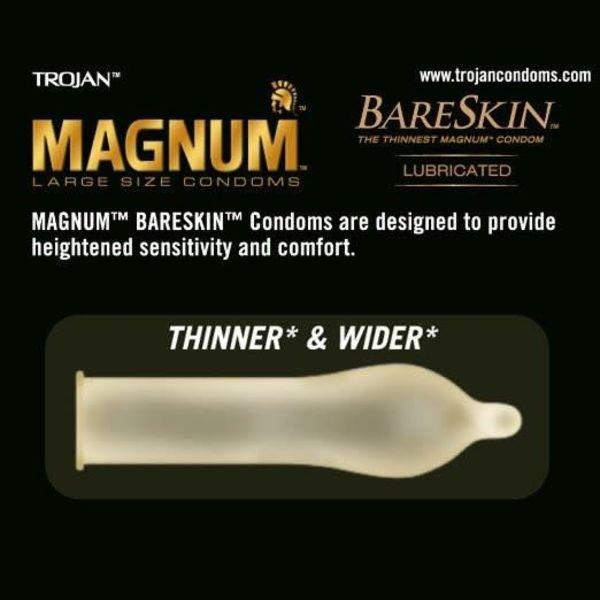 Trojan Magnum Bareskin Condom 10-pack