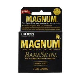 Trojan Magnum Bareskin Condom 3-pack