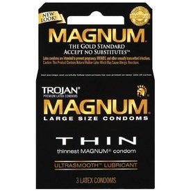 Trojan Magnum Thin Condom 3-pack