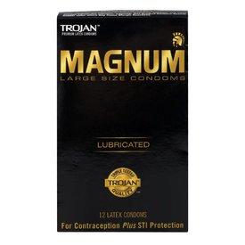Trojan Magnum Condom 12-pack