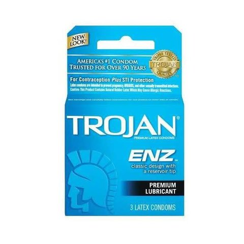 ENZ Lubricated Condom 3-pack