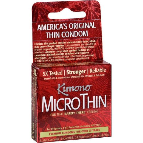 Microthin Ultra Condom 3 pack